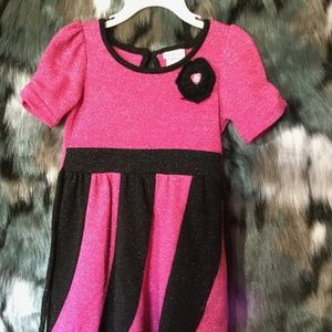 $15⬇️Pink and Black Shimmery Party dress